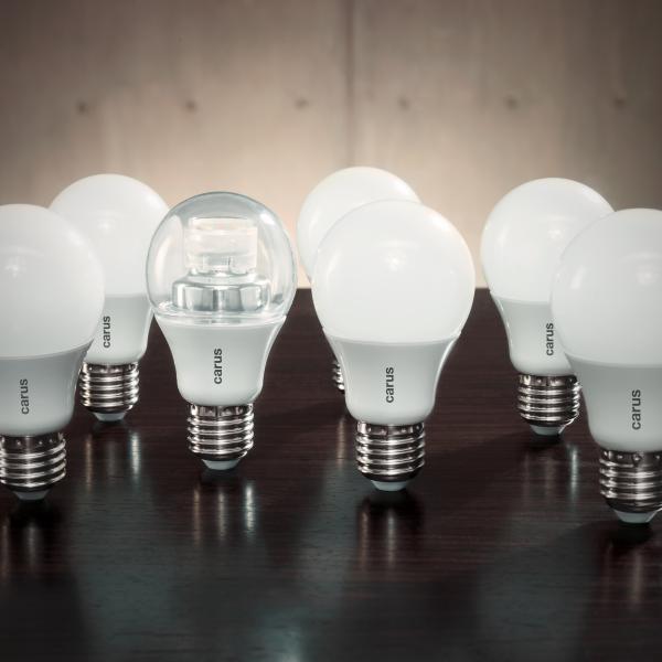 Carus LED Leuchtmittel PRESSEBILD