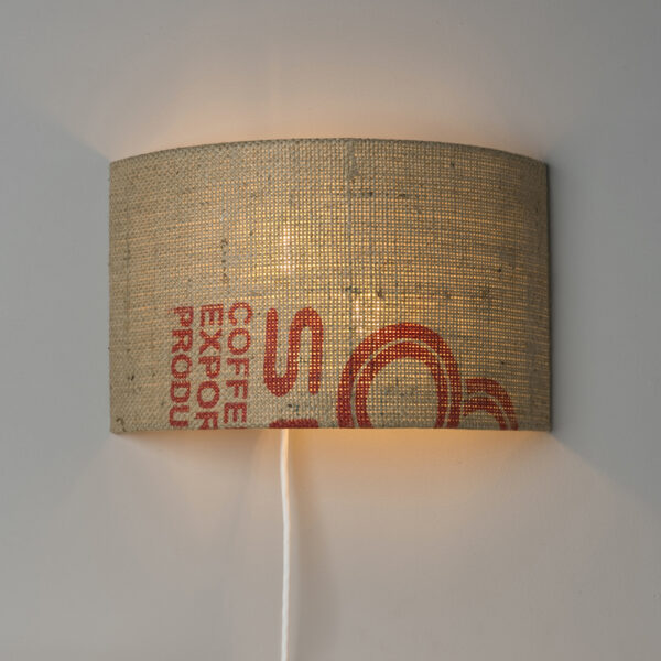 wandlampe upcycling