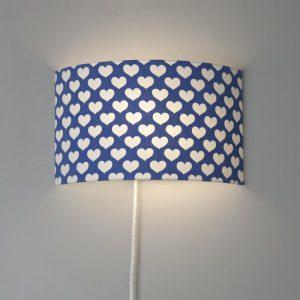 Wandlampe Retro N°21 aus Stoff