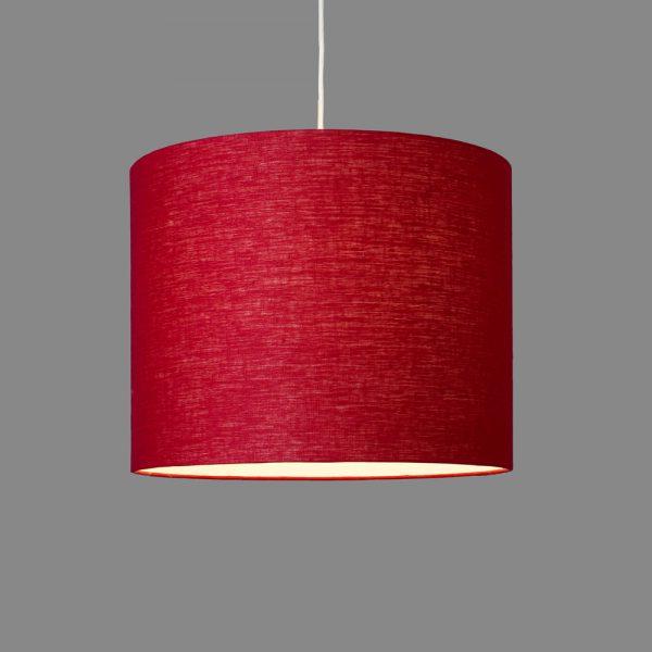 lumbono-pendelleuchte-leinen-rot