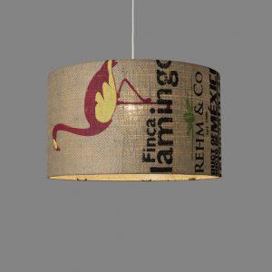 Deckenleuchte N°59 Perlbohne aus Kaffeesack
