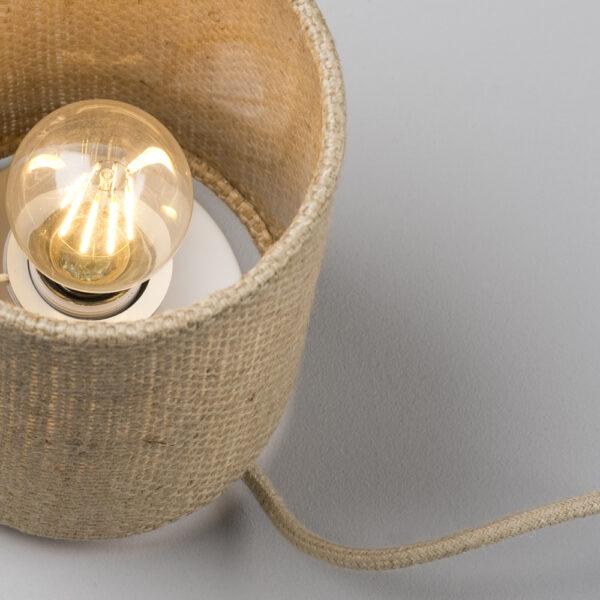 gemütliche Wohnzimmerlampe