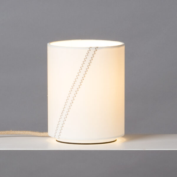 Tischlampe aus Segel