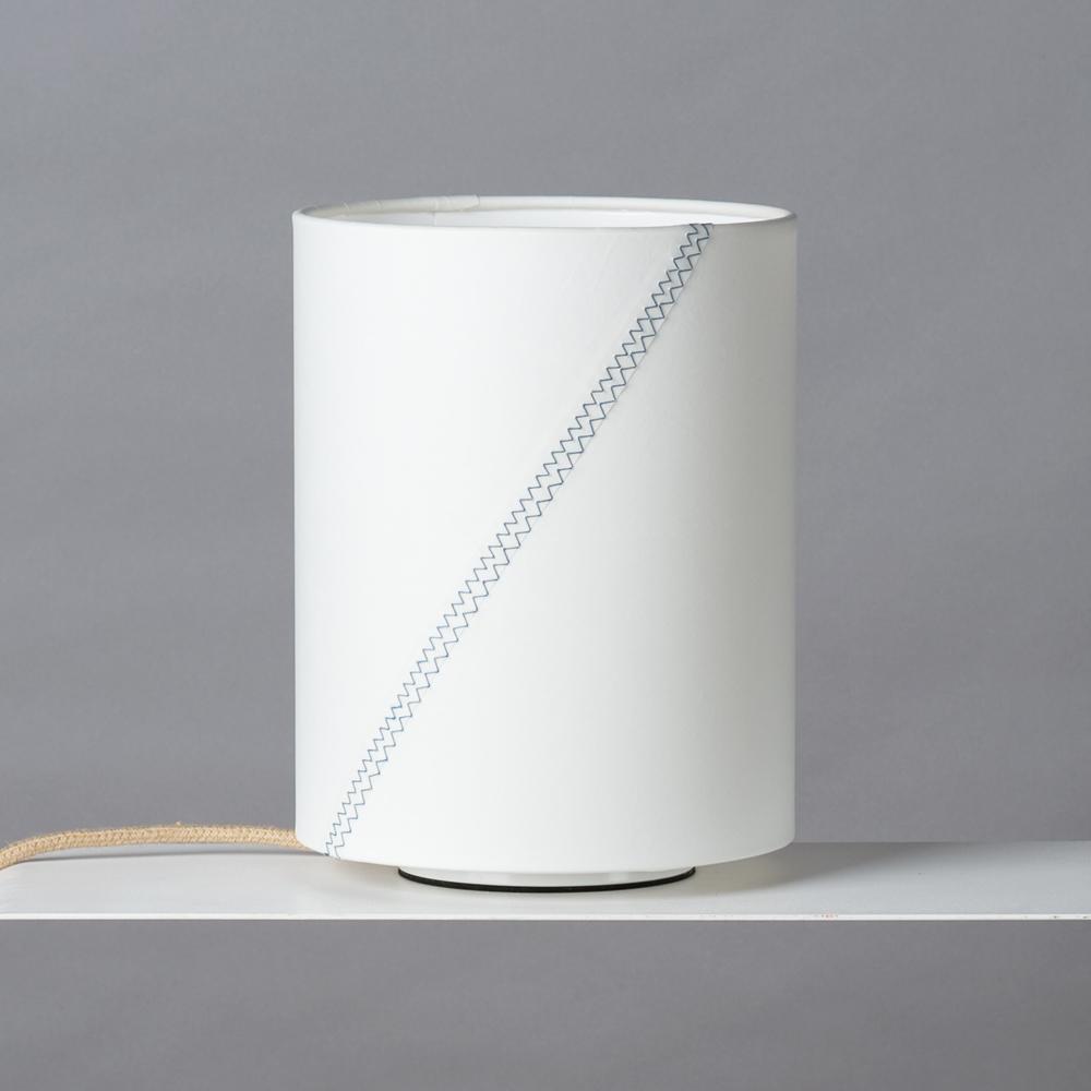 Wohnzimmerlampe aus Segel