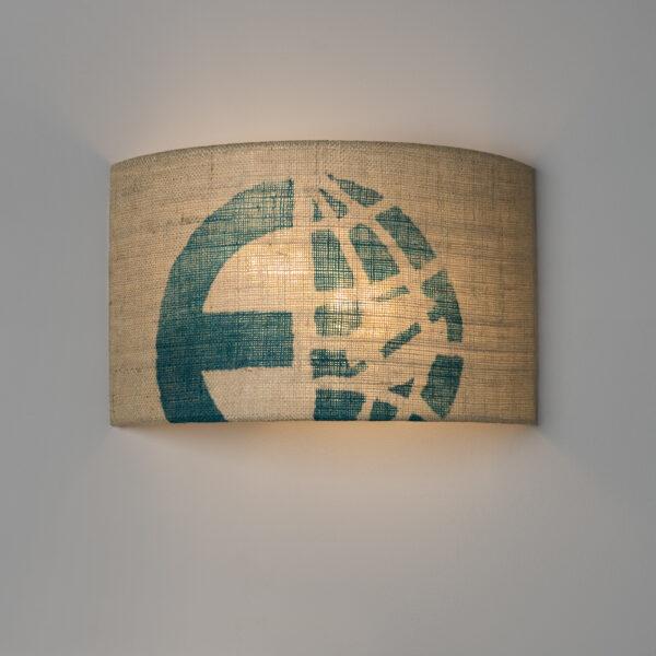 Lampe für Wandausgang von lumbono