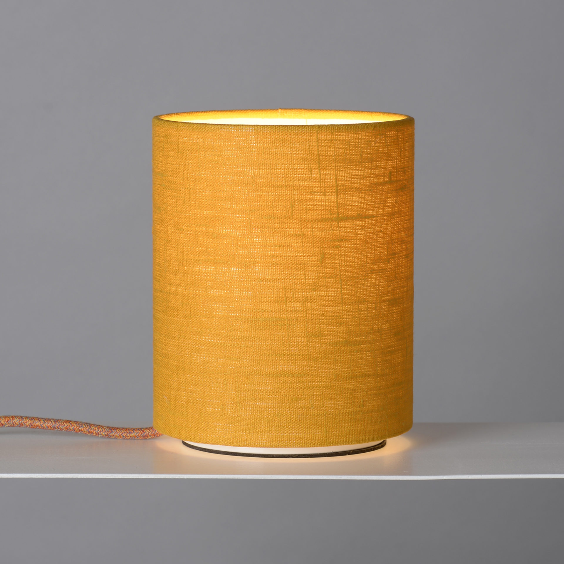 Tischlampe gelb